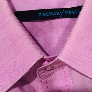 Zachary Prell Men's Purple Button Down Shirt